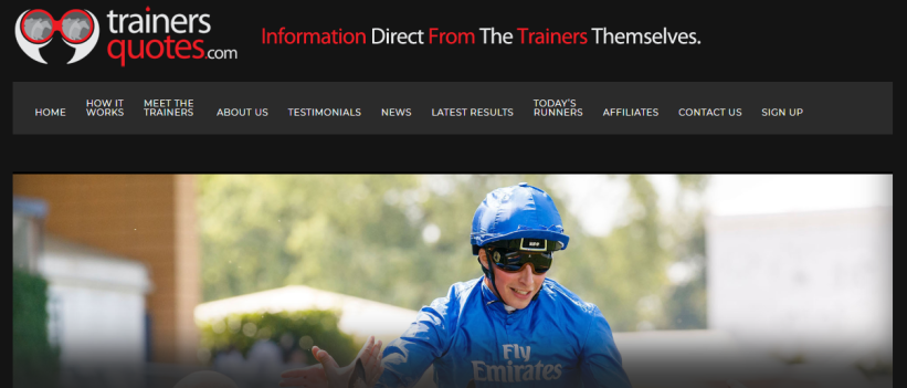 Trainer Quotes Home Page
